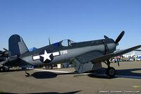 N83782 @ KDAY - Chance Vought F4U-1 Corsair  C/N 3884, NX83782