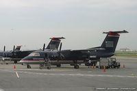 N845EX @ KLGA - De Havilland Canada DHC-8-102 Dash 8  C/N 344, N845EX