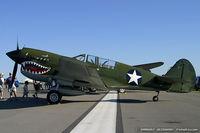 N85104 @ KDAY - Curtiss P-40N Warhawk C/N F858, NL85104