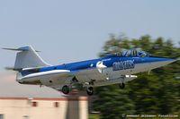N104RB @ KSCH - Lockheed CF-104D Starfighter C/N 104632, N104RB