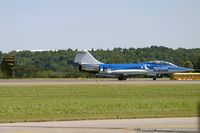 N104RB @ KSCH - Lockheed CF-104D Starfighter C/N 104632, N104RB