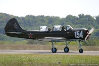 N4450Y @ KDAY - Yakovlev Yak-52 Elayne C/N 855809, N4450Y
