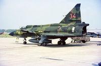 37334 @ ESTL - Ljungbyhed F 5 Flygdag 15.6.1986. Crashed 1988-03-14 North of Orrefors - by leo larsen