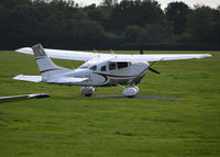 G-CHJK @ EGLD - Cessna T206H at Denham. Ex N5234J - by moxy