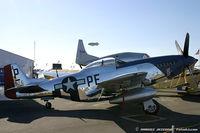 N151BW @ KDAY - North American P-51D Mustang Mighty IV C/N 44-74813, NL151BW - by Dariusz Jezewski www.FotoDj.com