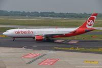 D-ALPG @ EDDL - Airbus A330-223 - AB BER Air Berlin - 493 - D-ALPG - 27.05.2016 - DUS - by Ralf Winter