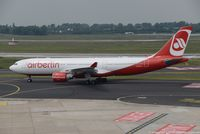 D-ALPH @ EDDL - Airbus A330-223 - AB BER Air Berlin - 739 - D-ALPH - 27.05.2016 - DUS - by Ralf Winter