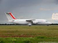 EI-RJF @ EDDL - British Aerospace BAe Avro RJ-85A - WX BGY CityJet 'Great Blasket Island' - E2337 - EI-RJF - 29.07.2015 - DUS - by Ralf Winter