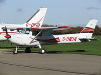 G-OWOW @ EGBK - Shortly after landing and minutes before departure... - by Keiran Sidwell
