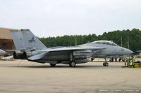 161166 @ KNTU - F-14D Tomcat 161166 AJ-107 from VF-213 Black Lions NAS Oceana, VA - by Dariusz Jezewski www.FotoDj.com