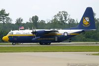 164763 @ KNTU - C-130T Hercules 164763 Fat Albert from Blue Angels Demo Team NAS Pensacola, FL - by Dariusz Jezewski www.FotoDj.com
