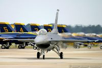 98-0003 @ KNTU - F-16CJ Fighting Falcon 98-0003 SW from 55th FS 'Fighting Fifty Fifth' 20 FW Shaw AFB, SC