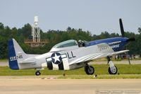 N851D @ KNTU - North American P-51D Mustang Crazy Horse C/N 44-84745, NL851D - by Dariusz Jezewski www.FotoDj.com