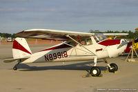 N89918 @ KNTU - Cessna 140 C/N 8967, N89918