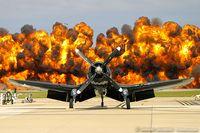 N179PT @ KNTU - Chance Vought F4U-5 Corsair C/N 122179, N179PT