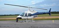 N894HA @ KDAN - Bell 206 JetRanger in Danville Va. - by Richard T Davis