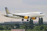 EC-LVX @ LFPO - Airbus A320-214, On final rwy 06, Paris-Orly airport (LFPO-ORY) - by Yves-Q