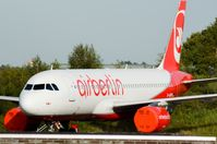 D-ABFB @ EHWO - Air berlin A320 - by fink123
