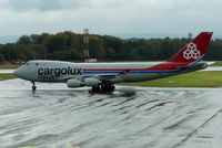 LX-RCV @ ELLX - Cargolux Italia - by Jan Buisman