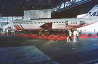 LN-RLU @ CPH - Copenhagen 16.8.1986 at SAS 40 th anniversary - by leo larsen