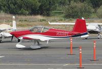 N2261 @ O69 - Novato, CA-based 2016 VANS RV-14A homebuilt taxiing @ its temporary Petaluma, CA home base while Novato's runway is resurfaced - by Steve Nation
