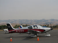 N731PP @ O69 - Poli Poli Inc. (Sausalito, CA) 2012 Cirrus Design SR22 @ its temporary Petaluma, CA home while Novato Municipal Airport, CA home base runway is resurfaced - by Steve Nation