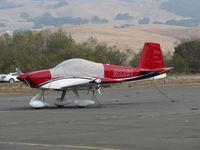 N2261 @ O69 - 2016 VANS RV-14A homebuilt with canopy cover @ Petaluma Municipal Airport, CA - by Steve Nation