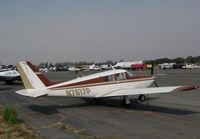 N7617P @ O69 - Novato, CA-based 1961 Piper PA-24-250 Comanche @ its temporary Petaluma Municipal Airport, CA home while Novato home base runway is resurfaced - by Steve Nation