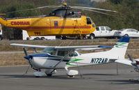 N172AR @ O69 - 1975 Cessna 172M @ its temporary Petaluma Municipal Airport, CA home while Novato, CA home base runway is resurfaced - by Steve Nation