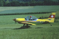 HB-YAA @ LSZV - At Sitterdorf airfield. Scanned from a color-negative. - by sparrow9
