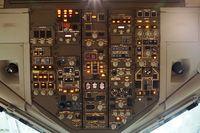 N661UA @ SFO - Overhead panel SFO 2017. - by Clayton Eddy