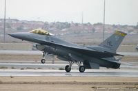 88-0459 @ KLSV - F-16CG Fighting Falcon 88-0459 HL from 4th FS Fightin' Fuujins 388th FW Hill AFB, UT