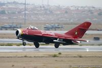 N117BR @ KLSV - PZL Mielec Lim-5 (MiG-17F) C/N 1C1529 - Bill Reesman, NX117BR