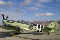 N518WB @ KLSV - Fairey Firefly AS-6 C/N 135129, NX518WB