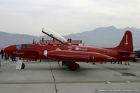 N99184 @ KLSV - Canadair T-33-MK3 Silver Star The Red Knight C/N 21098, N99184