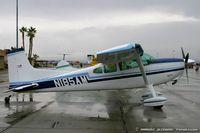 N185AM @ KLSV - Cessna A185F Skywagon C/N 18502529, N185AM