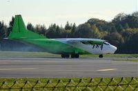 UR-KDM @ ELLX - Full power for take-off rwy24 at ELLX