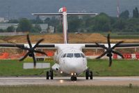 F-HOPY @ LFPO - ATR 72-600, Lining up rwy 08, Paris-Orly airport (LFPO-ORY) - by Yves-Q