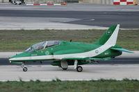 8807 @ LMML - Bae Hawk65A 8807 Royal Saudi Air Force - by Raymond Zammit