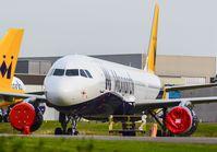G-ZBAI @ EHWO - Monarch A321 - by fink123