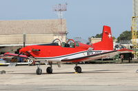 A-924 @ LMML - Pilatus PC-7 A-924 Swiss Air Force - by Raymond Zammit