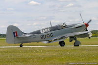 C-GBDG @ KYIP - Fairey Firefly AS.6  C/N F.8755, C-GBDG