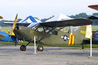 N2745C @ KYIP - Stinson L-5E Sentinel Pattons Pup  C/N 44-18025, N2745C