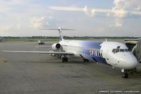 N802NK @ KYIP - Mcdonnell Douglas MD-83  C/N 53168, N802NK