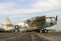 N9584Z @ KYIP - Grumman TBM-3E Avenger Ida Red  C/N 85882 - Dave Tinker, N9584Z - by Dariusz Jezewski www.FotoDj.com