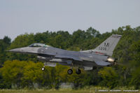 86-0235 @ KYIP - F-16C Fighting Falcon 86-0235 MI from 107th FS Red Devils 127th FW Selfridge ANGB, MI
