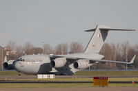 A7-MAA @ EHAM - 2017-11-05 EHAM A7-MAA C-17 sitting on the apron. - by Robert van de Pol