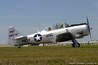 N45000 @ KYIP - North American AT-6 Texan  C/N 90787, N45000 - by Dariusz Jezewski  FotoDJ.com