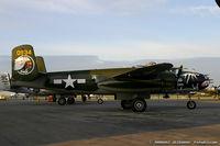 N5672V @ KYIP - North American B-25J Mitchell Betty's Dream C/N 10847686, N5672V