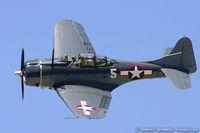 N82GA @ KYIP - Douglas SBD-5 Dauntless  C/N 54532, NL82GA